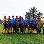 PEMAIN : Tampak para pemain kesebelasan Martapura FC, yang akan bertanding dengan SSB Belga, Laga Persahabatan dilakukan pada Pukul 15.30 WIB, Kamis Sore, (24/1/2021)