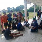 Panitia Cabor Atletik Gelar Seleksi Terbuka POPDA OKU Timur 2021 Zona 1 dilaksanakan di Lapangan Koni Belitang, Rabu (10/3/2021)